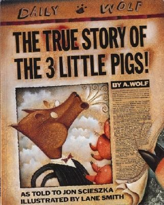 The True Story of the Three Little Pigs [Paperback], (childrens books, fairy