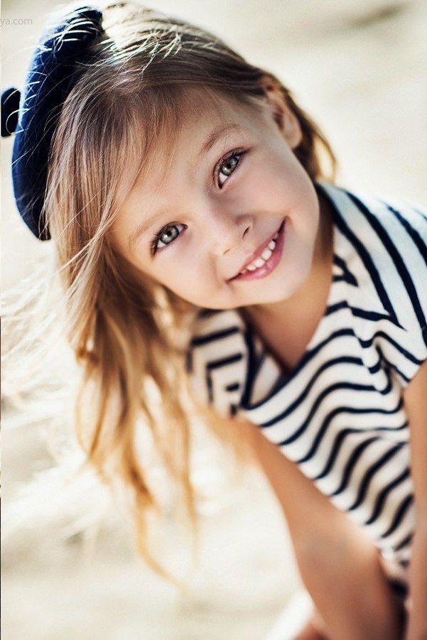 French child model