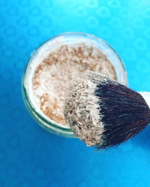 mo-naturalnie: Suchy szampon ze skrobi kukurydzianej