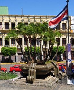 San Jose Costa Rican Flag