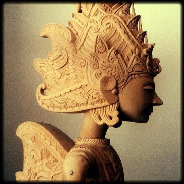 Rama, a Wooden Wayang @andrea_na
