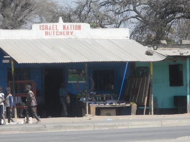 In Sesheke at the main market on the Sesheke-Livingstone road. Sesheke-Zambia.