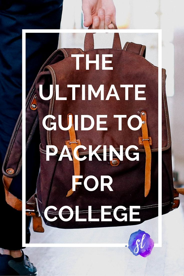 The Ultimate Guide to Packing for College; everything you need for your dorm room! - Sara Laughed