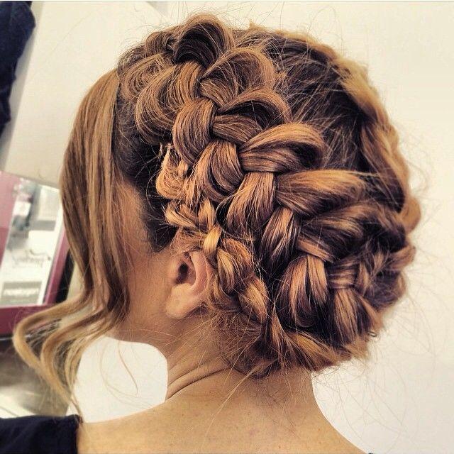 """Did we say we loved braids at blushbar?! Yes blush babes we do! #braid #braids #love #hairoftheday #hairstylist #hair #hairstyles #geelonghair #elevenAUSTRALIA #cloudninehair  #hairbygez @hairbygeraldine"" Photo taken by @blush_bar on Instagram, pinned via the InstaPin iOS App! http://www.instapinapp.com (06/10/2015)"