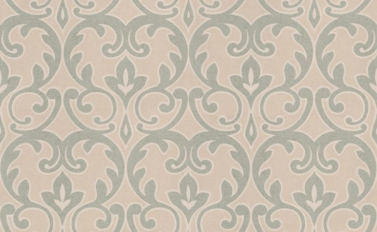 Albany Twilight (FD58461) - Albany Wallpapers - A stunning floral trellis design with a cracked metallic texture. Showing in duck egg blue on pearl. See co-ordinating plain - FD58484. Please request a sample for true match. Paste-the-wall product.