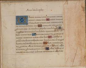 16th century typography - Menor letra de copistas