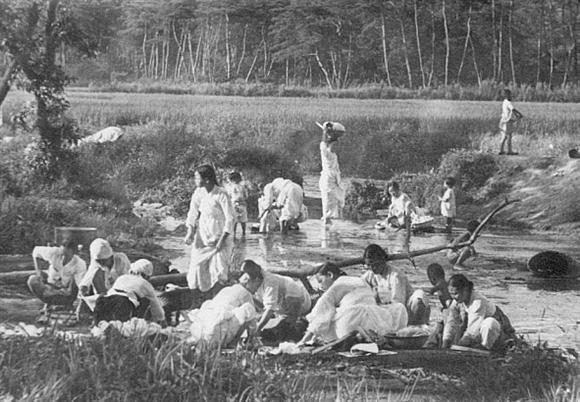 한국의산하, 1890년대 사진