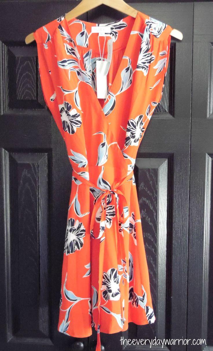Stitch Fix Review March 2017 - Yumi Kim Lexey Silk Wrap Dress