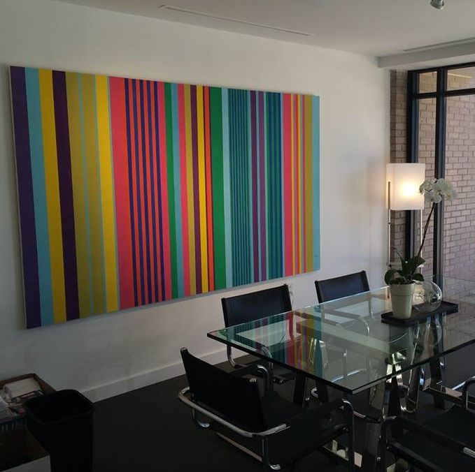 Perfect for a conference room of a real estate corporate office in the Washington, DC METRO area DMV. artbysisrael.com