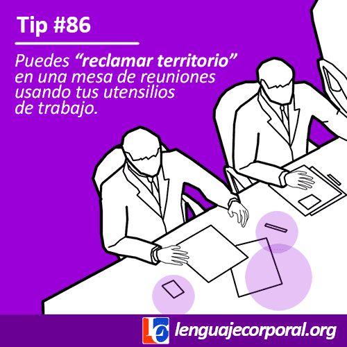 Cuando estás sentado en una mesa de reuniones, te encuentras en un espacio neutral del cual debes sacar el máximo provecho; y para proyectar poder debes...