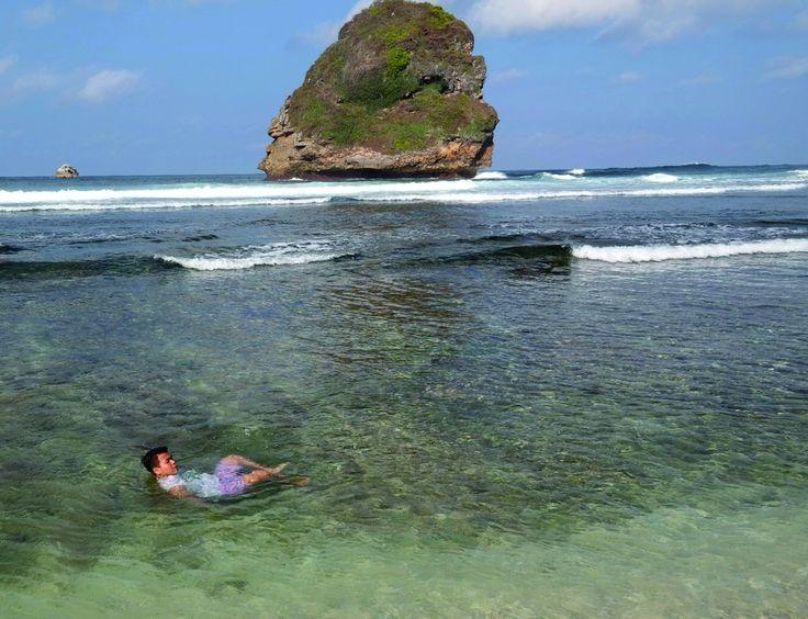 Pantai Goa Cina in Malang