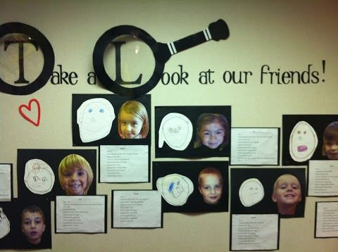 Google+ Love this self portrait bulletin board