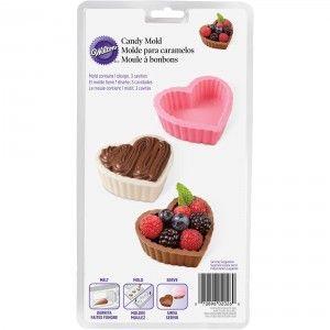 Wilton Chocolate Mould - Dessert Shell - Heart Golda's Kitchen