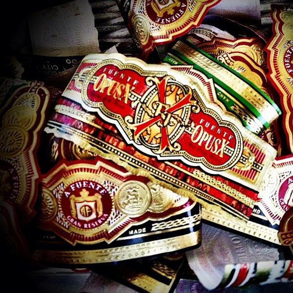 Cigar bands photo