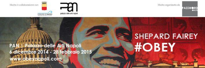 Obey, l'artista che ha contribuito alla fortuna della campagna elettorale di Obama, è in mostra a Napoli. Una sessantina di opere dell'artista...