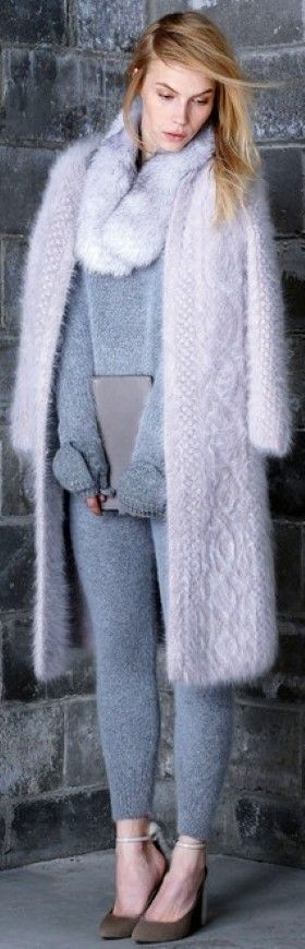 chic knitted style