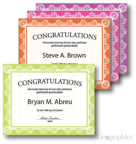 39 best Award Certificates \ Frames images on Pinterest Award - congratulations award template