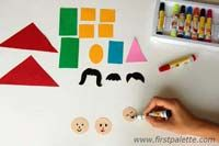 Step 4 Family Stick Puppets craft