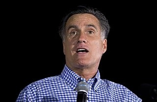 #222 Oct. 20-Romney Rips Russia, at Least on Campaign Trail;  Republican presidential candidate, former Massachusetts Gov. Mitt Romney speaks during a campaign rally on Friday, Oct. 19, 2012 in Daytona Beach, Fla. (AP Photo/ Evan Vucci)
