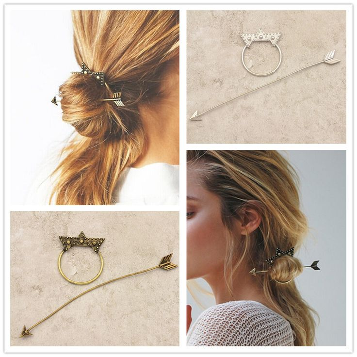 Nowa moda hairwear zabytkowe pozłacane gwiazda spinka do włosów grzebienie do włosów kije prezent dla kobiety dziewczyna H363
