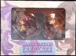 アニプレックスSHAFT40th MADOGATARI展限定 MADOGATARIフィギュアセットA:暁美ほむら戦場ヶ原ひたぎ