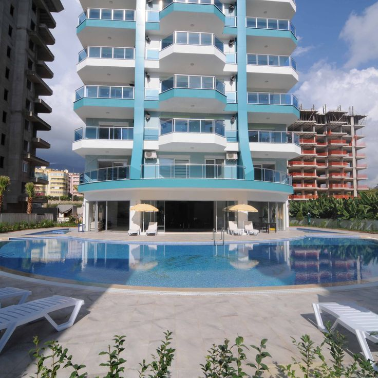 Beautiful 1+1 and 3+1 apartments in Mahmutlar, only 350 m from the beach and 500 m from the city center. Great value for money for you new home in Alanya