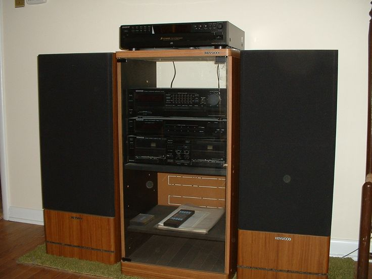 Stereo System With Speakers And Cabinet In Hopeful S