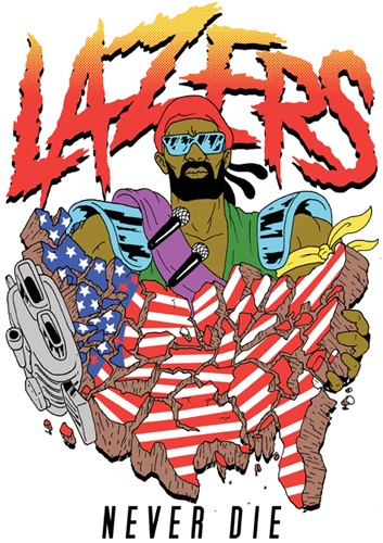 Ferry Gouw. Major Lazer.