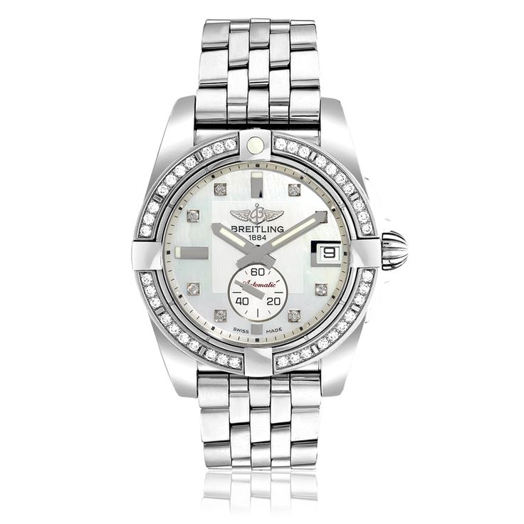ladies breitling watches | view all previous lady s breitling galactic 36 watch by breitling lady ...