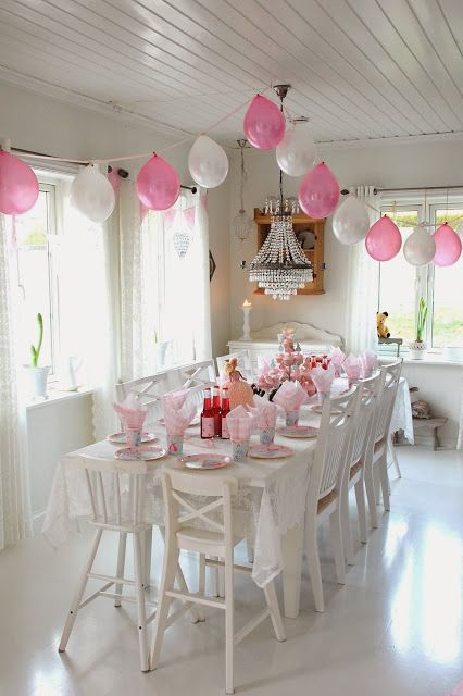 Easy yet adorable party decor