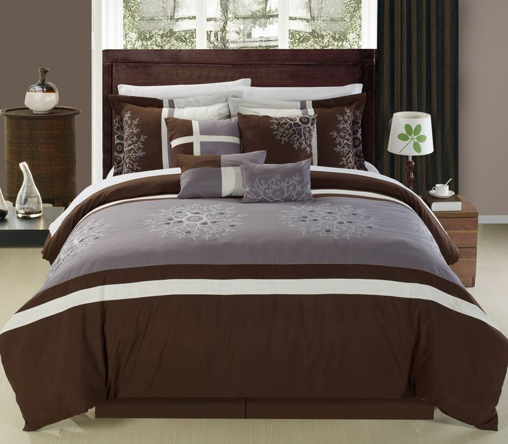 17 Best Ideas About Blue Brown Bedrooms On Pinterest: 17 Best Ideas About Taupe Bedding On Pinterest