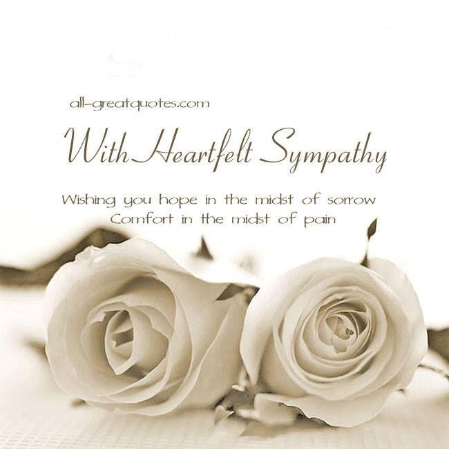 Free Sympathy Condolences Cards For Facebook