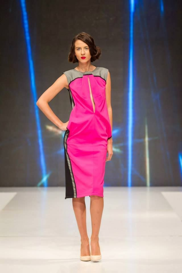 When did you last fall in love? We did 5 minutes ago when we saw this amazing dress. In Pink We Trust by Florentina Giol available at Band of Creators Designers' Store.