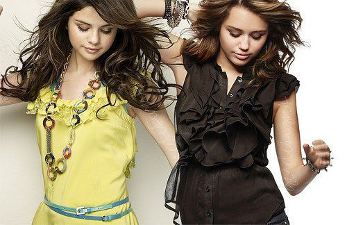 selena gomez and miley cyrus  | Miley VS Selena [Better Looking Down] - Miley Cyrus vs. Selena Gomez ...