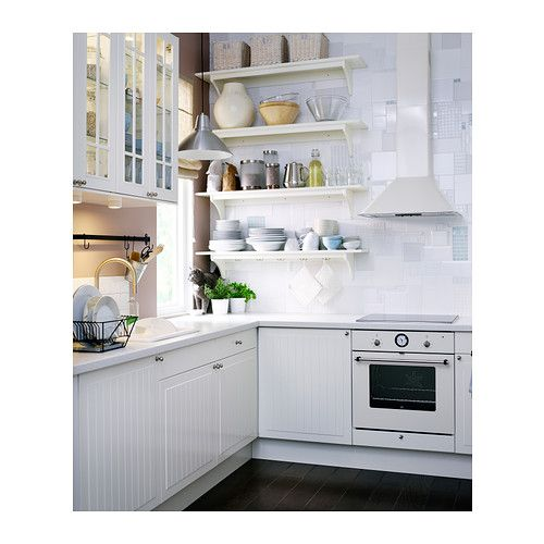 """STENSTORP Wall shelf - white, 47 1/4 """" - IKEA 59.99"""