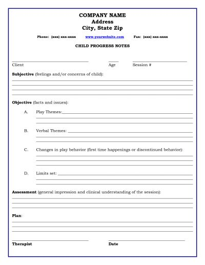 Physician Progress Notes Template  BesikEightyCo