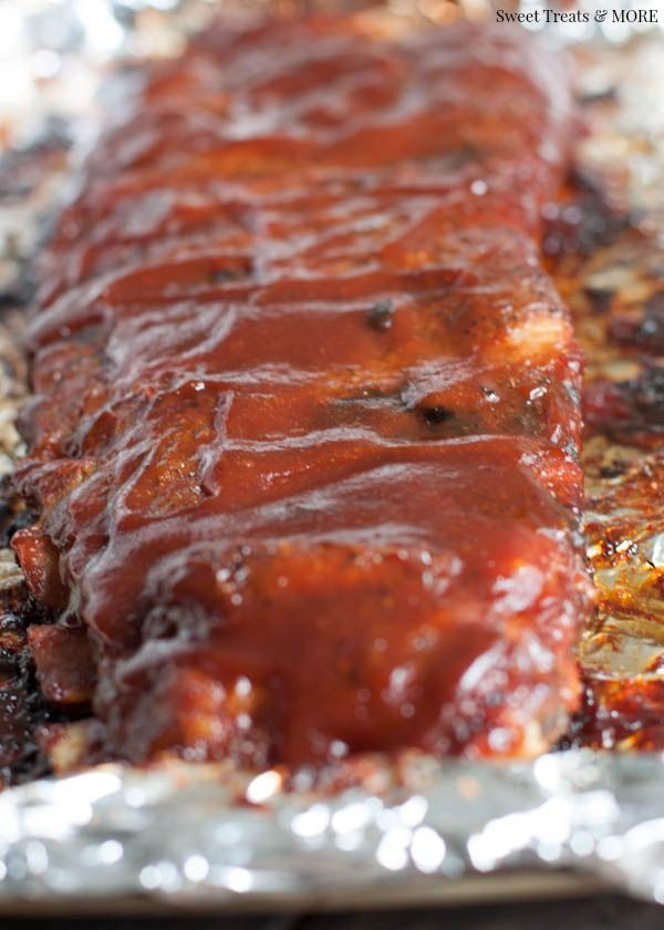 The Best Oven Baked BBQ Ribs. Made 09/02/2015. Absolutely amazing.