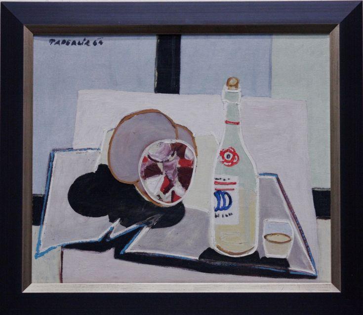 PADERLÍK Arnošt (1919-1999): Zátiší s lahví.