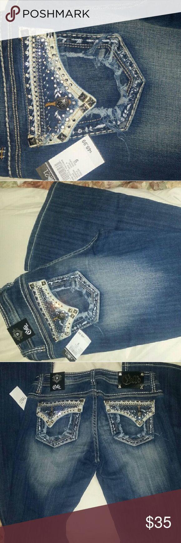 Rue21 Cello Jeans, brand new w/t. Rue21 Cello Jeans bnwt, size 9, inseam 33 Rue 21 Jeans Boot Cut