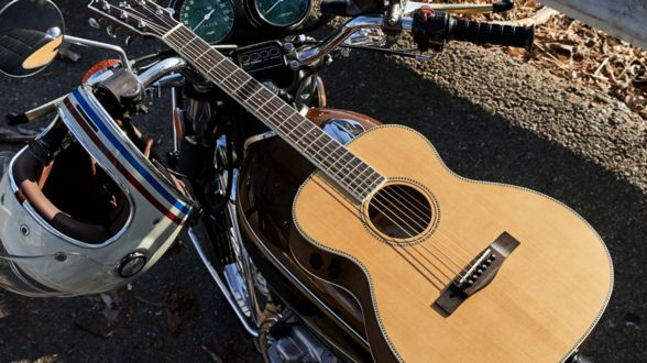 You have a plane ticket to anywhere and a guitar by your side, where would you fly to? #HereForTheMusic  https://www.fender.com/products/acoustic-guitars/travel