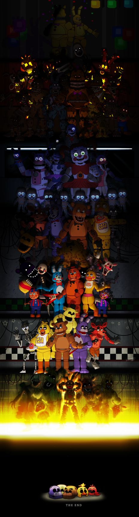 Five Nights at Freddy's (UPDATE 2) by DoodleDox