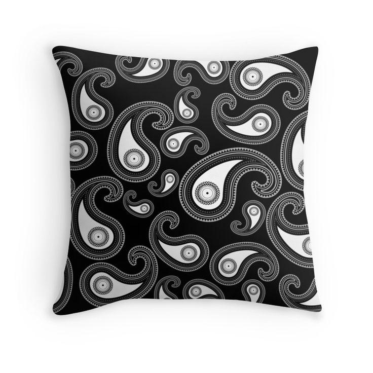 Invert paisley pattern