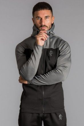 b98981aab5982c Capo Panelled Poly Tracksuit Hoodie   Fashion in 2019   Hoodies ...