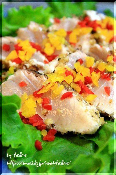 ◆ヒラマサ|fellowの美味しい物大好き ヒラマサのクルミロースト
