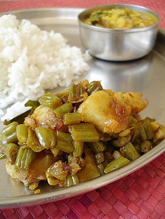 14 best images about french food on pinterest bangaladumpa beans vepudu potato french beans stir fry indian vegetarian recipesindian food forumfinder Gallery