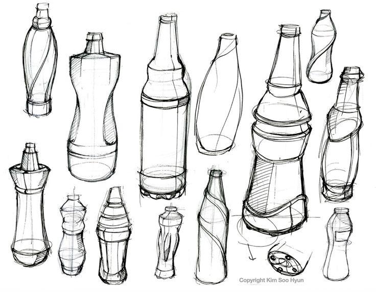 design drawing bottle - Google zoeken