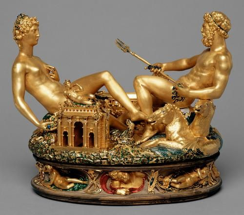 I love Cellini's autobiography; this work of his is worth an estimated 68 million dollars today.
