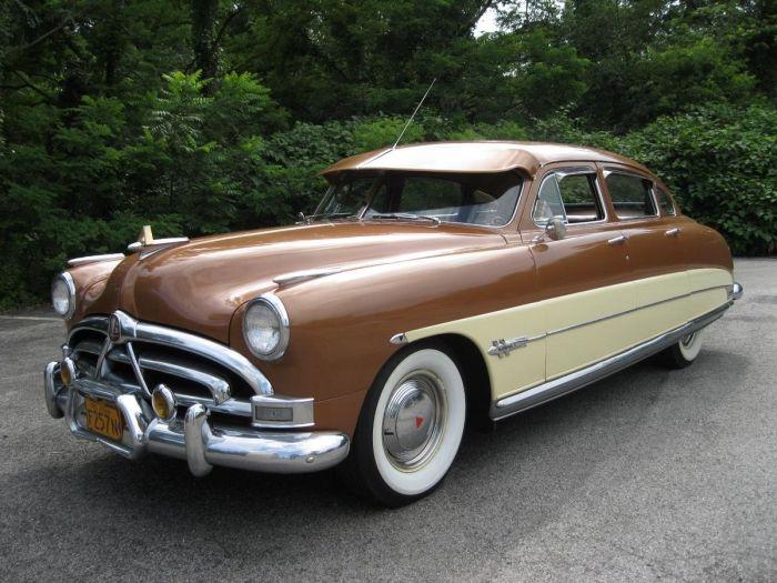 1951 hudson hornet antique cars hudson pinterest. Black Bedroom Furniture Sets. Home Design Ideas
