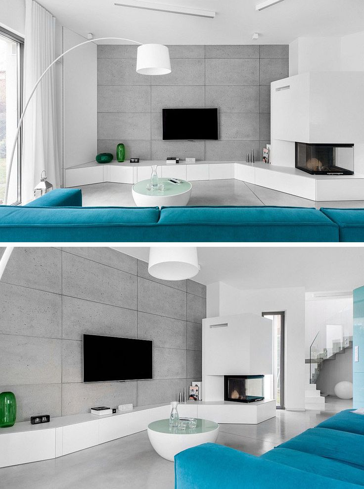 8 tv wall design ideas for your living room - Tv Wall Design Ideas