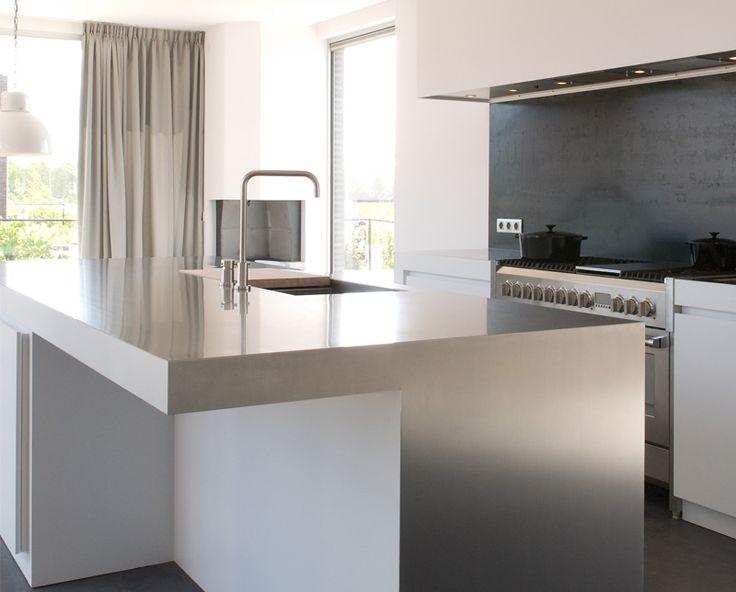 Ornell keuken RVS | UW-keuken.nl